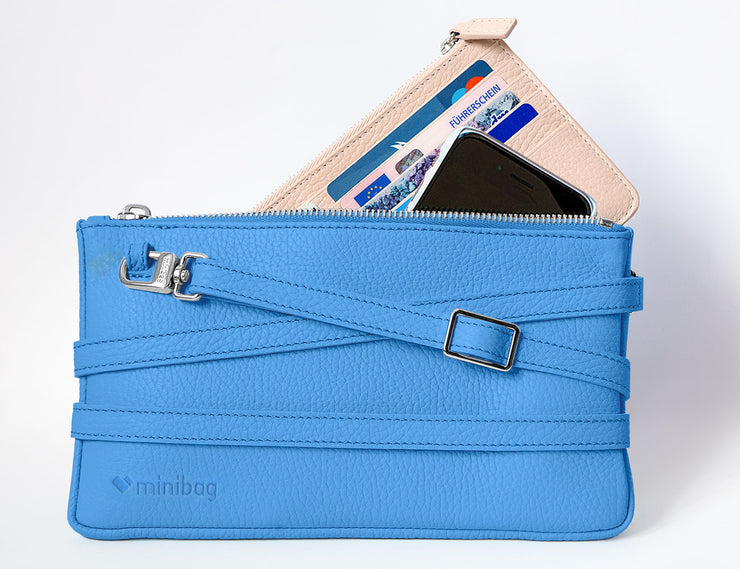 minibag royal blue mit Wallet - minibag.com