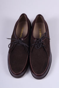 Early 1950s inspired everyday Oxford shoe - brown - Barbara