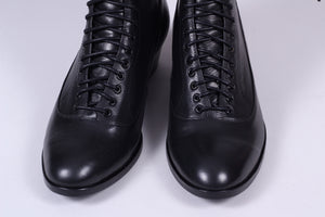 Everyday working boots, 1915-1920 - black -  Ruth