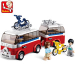 Camper Brick Toy Set