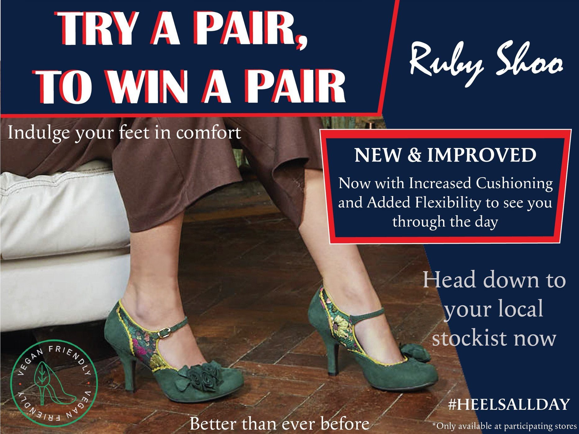 Ruby shoo try and win competition ruby shoo stockists uk