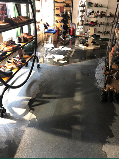 Worcester store closes after flood