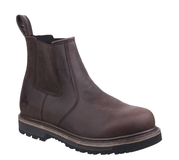 Amblers Carlisle Dealer Boot Brown