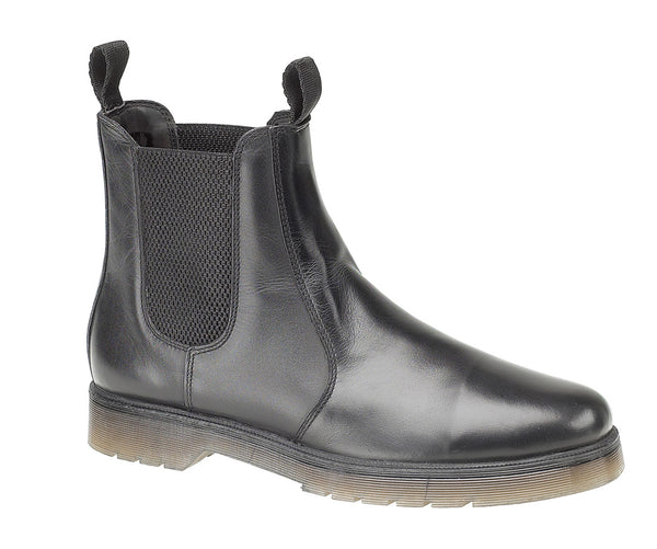 Amblers Colchester Womens Leather Chelsea Boot Black