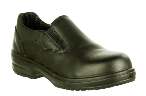 Amblers Safety FS94C Womens Slip On Safety Shoe Black