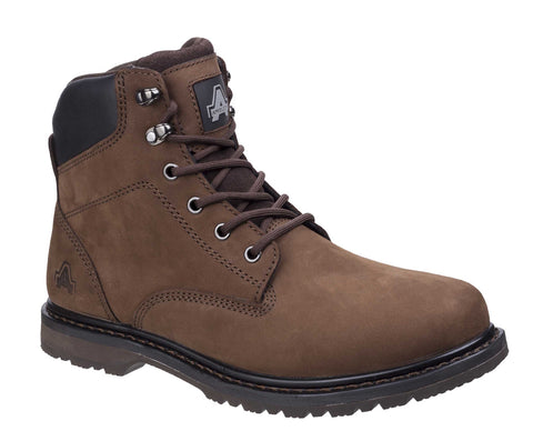 Amblers Millport Lace Up Boot Brown