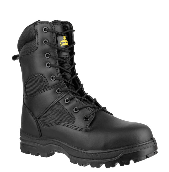 Amblers Safety FS009C Womens Lace Up Safety Boot Black