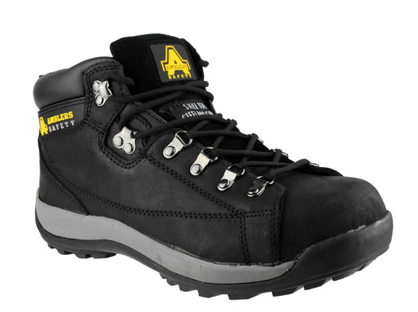 Amblers Safety FS123 Womens Lace Up Safety Boot Black