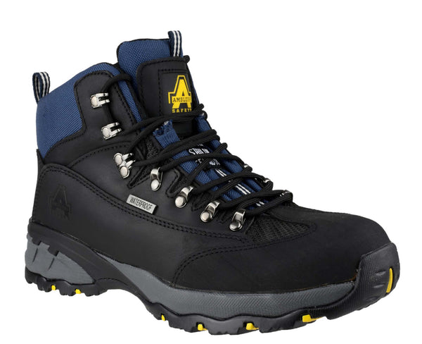 Amblers Safety FS161 Mens Lace Up Safety Boot Black