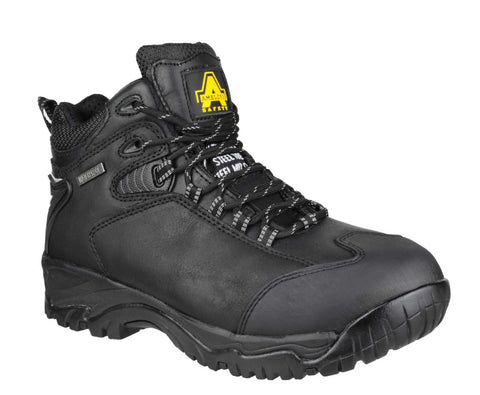 Amblers Safety FS190 Mens Lace Up Safety Boot Black