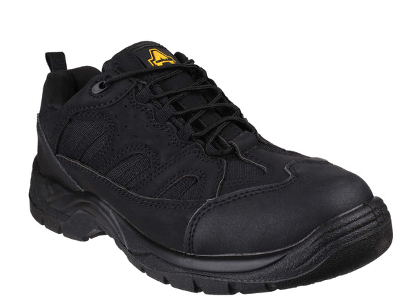 Amblers Safety FS214 Mens Lace Up Safety Trainer Shoe Black