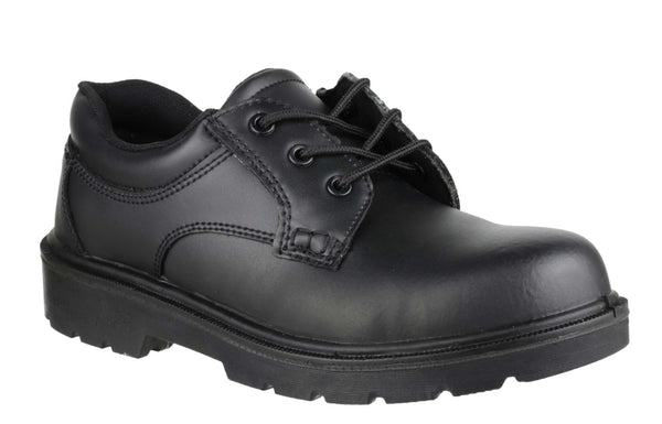 Amblers Safety FS38 Womens Non Metal Lace Up Safety Shoe Black