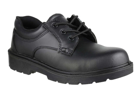 Amblers Safety FS41 Womens Lace Up Safety Shoe Black