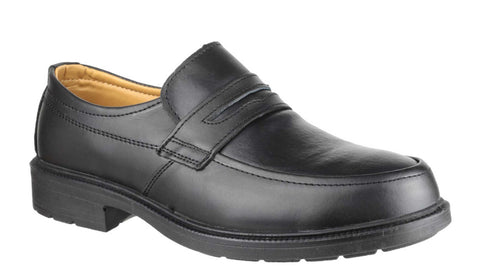 Amblers Safety FS46 Mens Slip On Safety Shoe Black