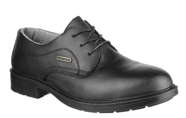 Amblers Safety FS62 Mens Lace Up Safety Work Shoe Black