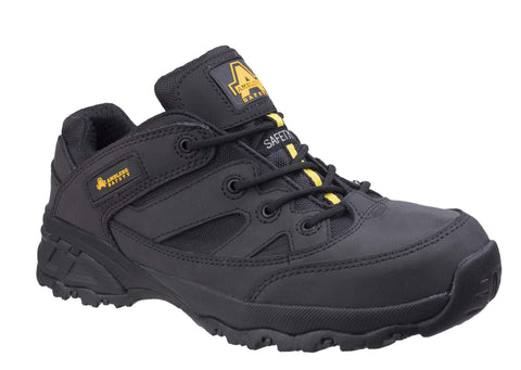Amblers Safety FS68C Womens Non-Metallic Lace Up Safety Shoe Black