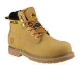 Amblers Safety FS7 Womens Lace Up Safety Boot Honey