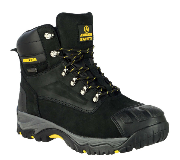 Amblers Safety FS987 Mens Lace Up Safety Boot Black