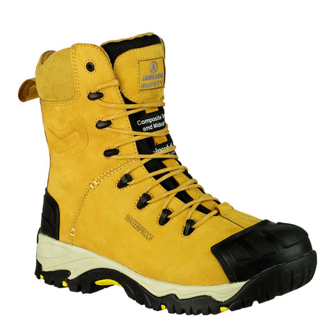 Amblers Safety FS998 Mens Lace Up Safety Boot Honey
