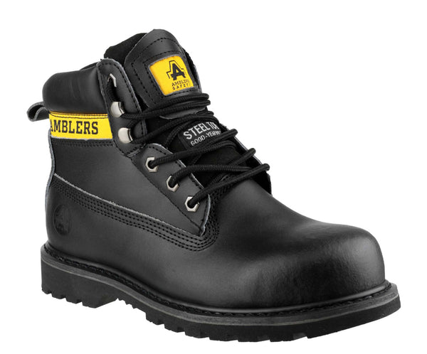 Amblers Safety FS9 Womens Lace Up Safety Boot Black