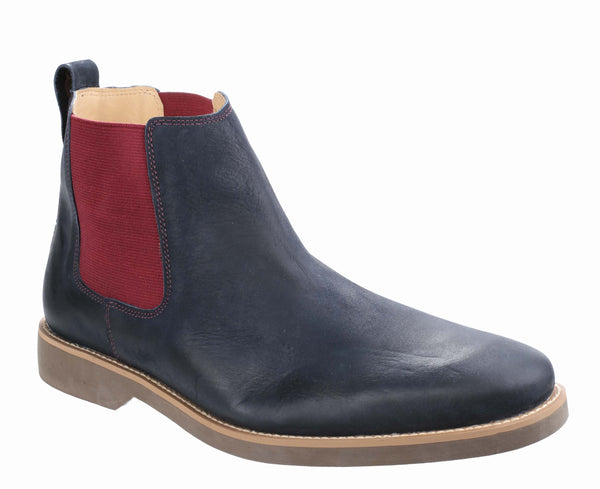 Anatomic & Co Cardoso 565692 (Cheam) Mens Pull On Chelsea Boot Navy ON