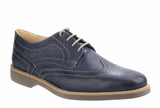 Anatomic & Co Tucano 565626 (Chipping) Mens Lace Up Brogue Shoe Navy ON