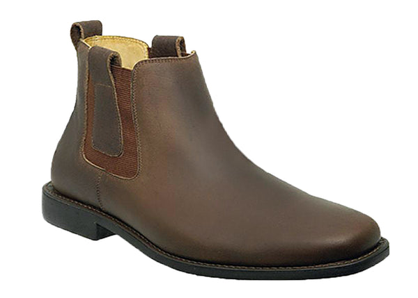 Anatomic & Co Natal 818153 (Hereford) Mens Pull On Chelsea Boot Mustang Waxy
