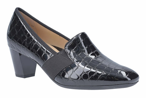 Ara Verona 12-18004 Womens Slip On Wide Fit Court Shoe