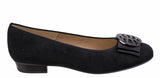 Ara Bari 12-33755-01 Womens Suede Leather Slip On Ballerina Pump