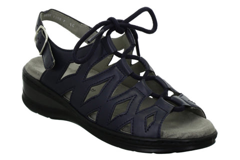 Ara Korfu 12-56510-08 Womens Wide Fit Slingback Sandal