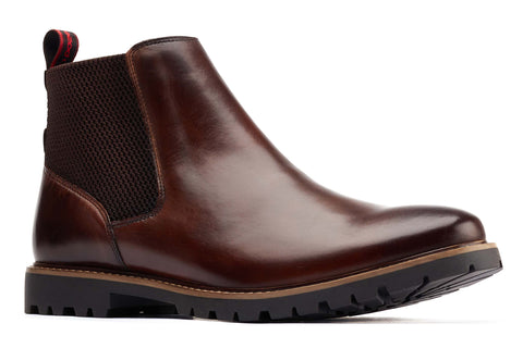 Base London Anderson Chelsea Boot Brown