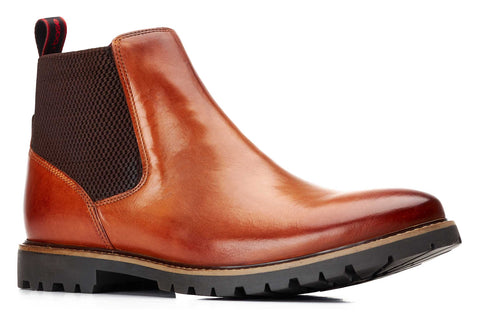 Base London Anderson Chelsea Boot Tan