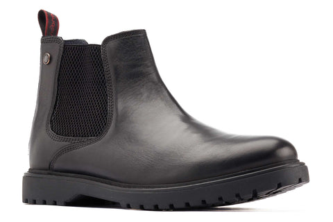 Base London Anvil Chelsea Boot Black