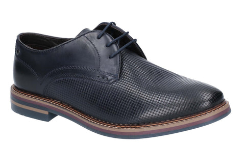 Base London Blake Burnished Shoe NAVY