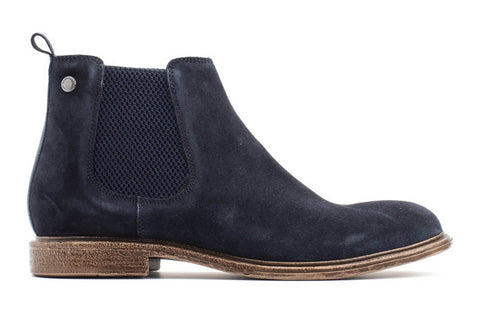 Base London Flint Suede Mens Chelsea Boot