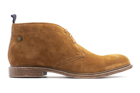Base London Jasper Suede Mens Lace Up Chukka Boot