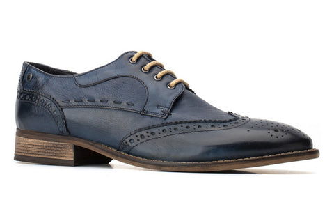 Base London Kitchin Softy Mens Brogue Shoe