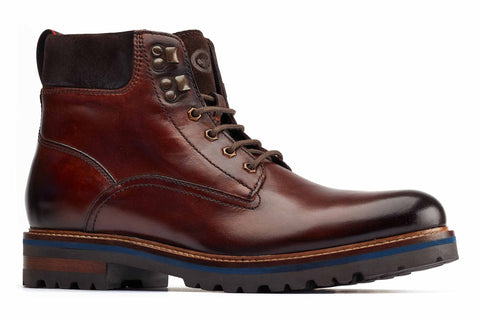 Base London Maidon Work Boot Brown