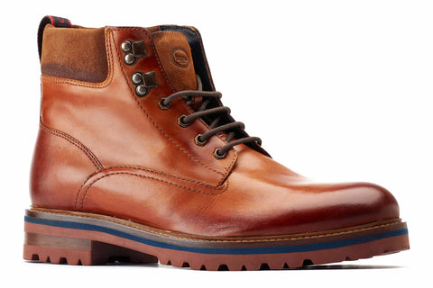 Base London Maidon Work Boot Tan