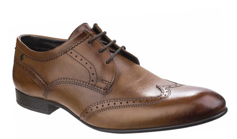 Base London Purcell Washed Leather Tan