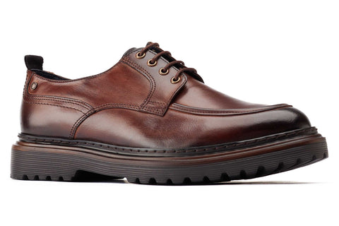 Base London Rene Apron Toe Shoe Brown