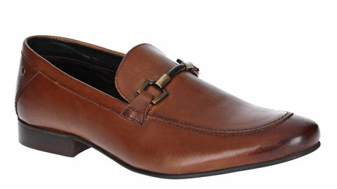 Base London Soprano Washed Loafer TAN