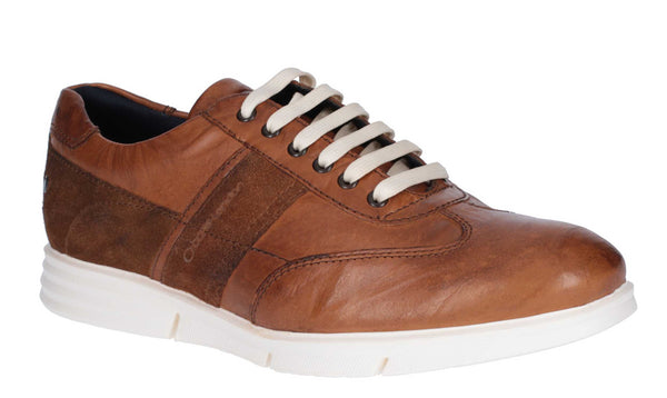 Base London Tide Suede Leather Tan
