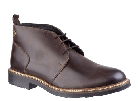 Base London Tully Pull Up Chukka Boot BROWN