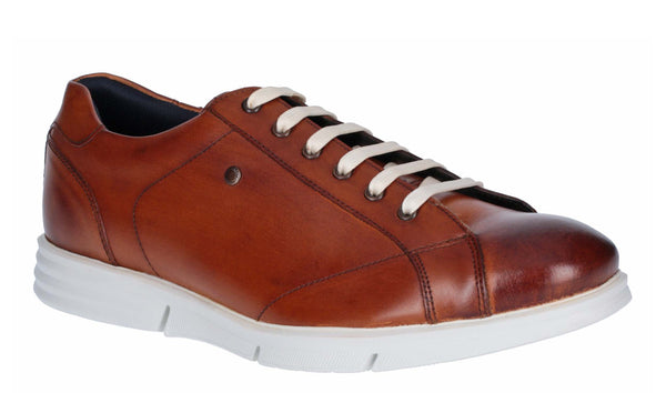 Base London Vector Washed Leather Tan