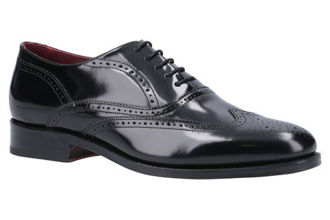 Barker F353 Men's Wide Fit Oxford Brogue Shoe