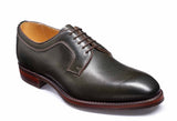 Barker Skye 3988 Mens Derby Style Plain Toe Lace Up Country Shoe Green Grain 26F