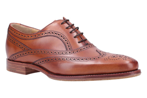 Barker Turing 4502 Mens Lace Up Brogue Dress Shoe