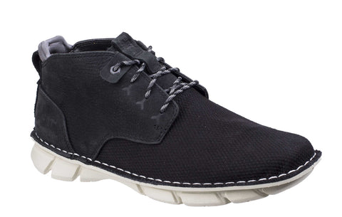 CAT Lifestyle Almanac Canvas Lace Up Boot Black