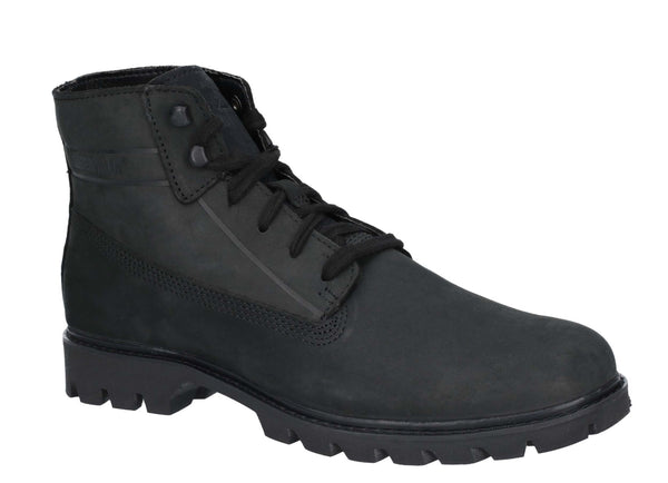 CAT Lifestyle Basis Lace Up Boot Black